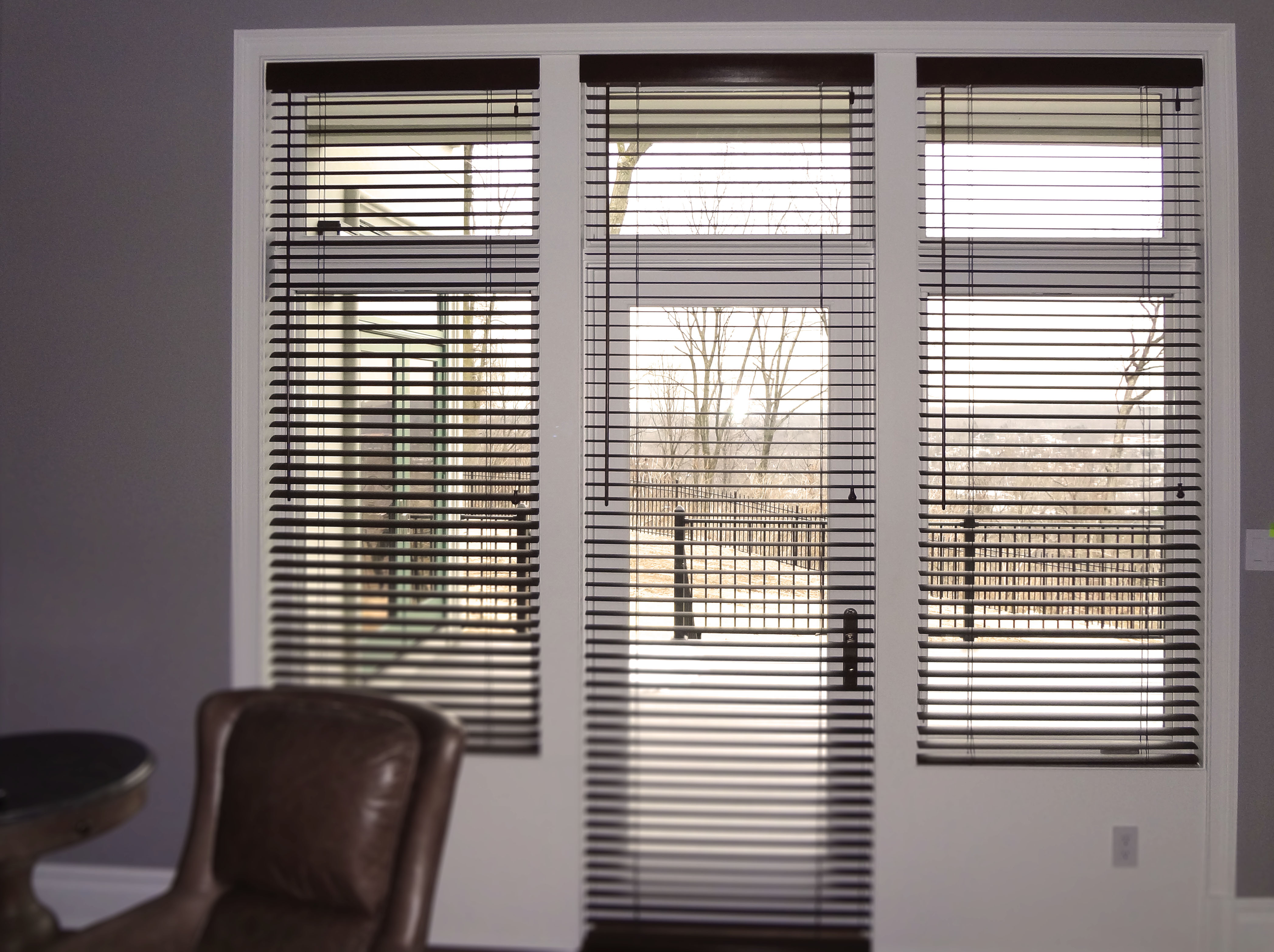 outlet faux ontario wood blinds toronto window aluminum s shutters shutter in coverings gray leading